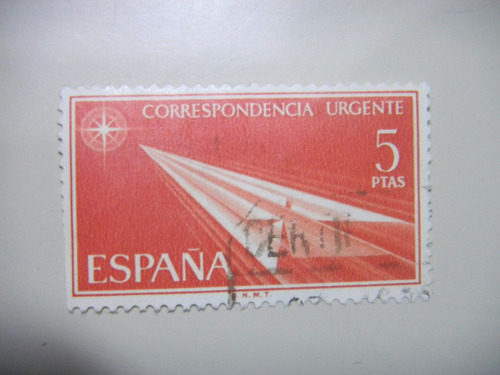 selos espanha - selos de entrega expressa - 1967