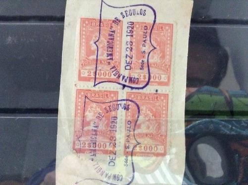 selos fiscais com