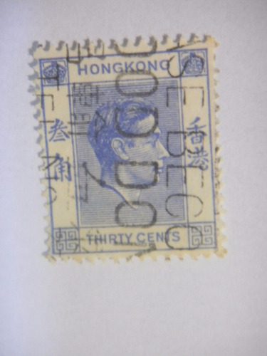 selos hong kong -  rei george vl - 1946-1952