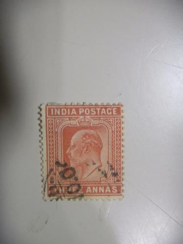 selos india - rei eduardo vll - 1902