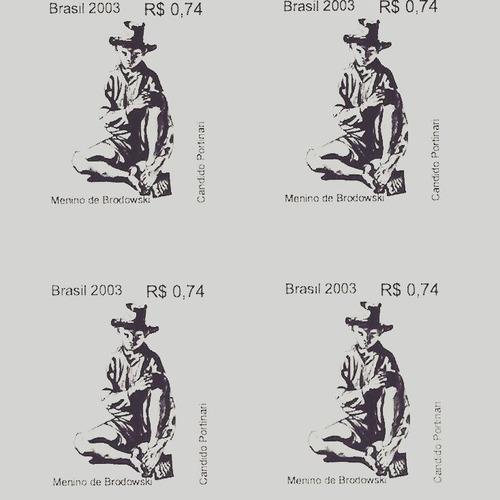 selos - menino de brodowskide candido portinari