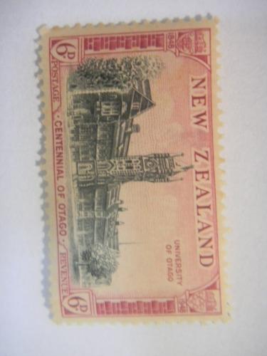 selos nova zelandia - centenário da provincia de otago
