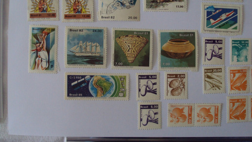 selos novos - brasil