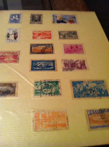 selos  raros antigos