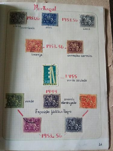selos raros e antigos de portugal