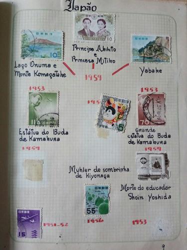 selos raros e antigos japão