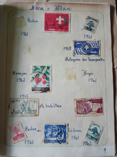 selos raros e antigos siria e líbano