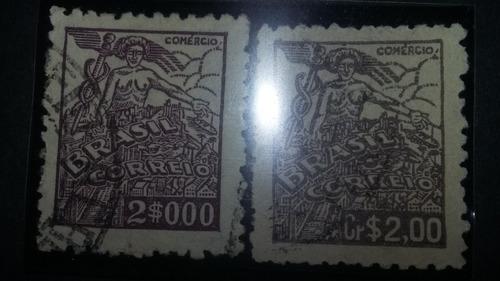 selos raros mudanca de moeda
