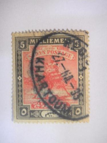 selos sudão - camelo carteiro - 1898