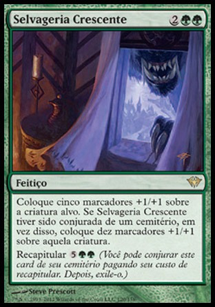 selvageria crescente (increasing savagery) - dark ascension