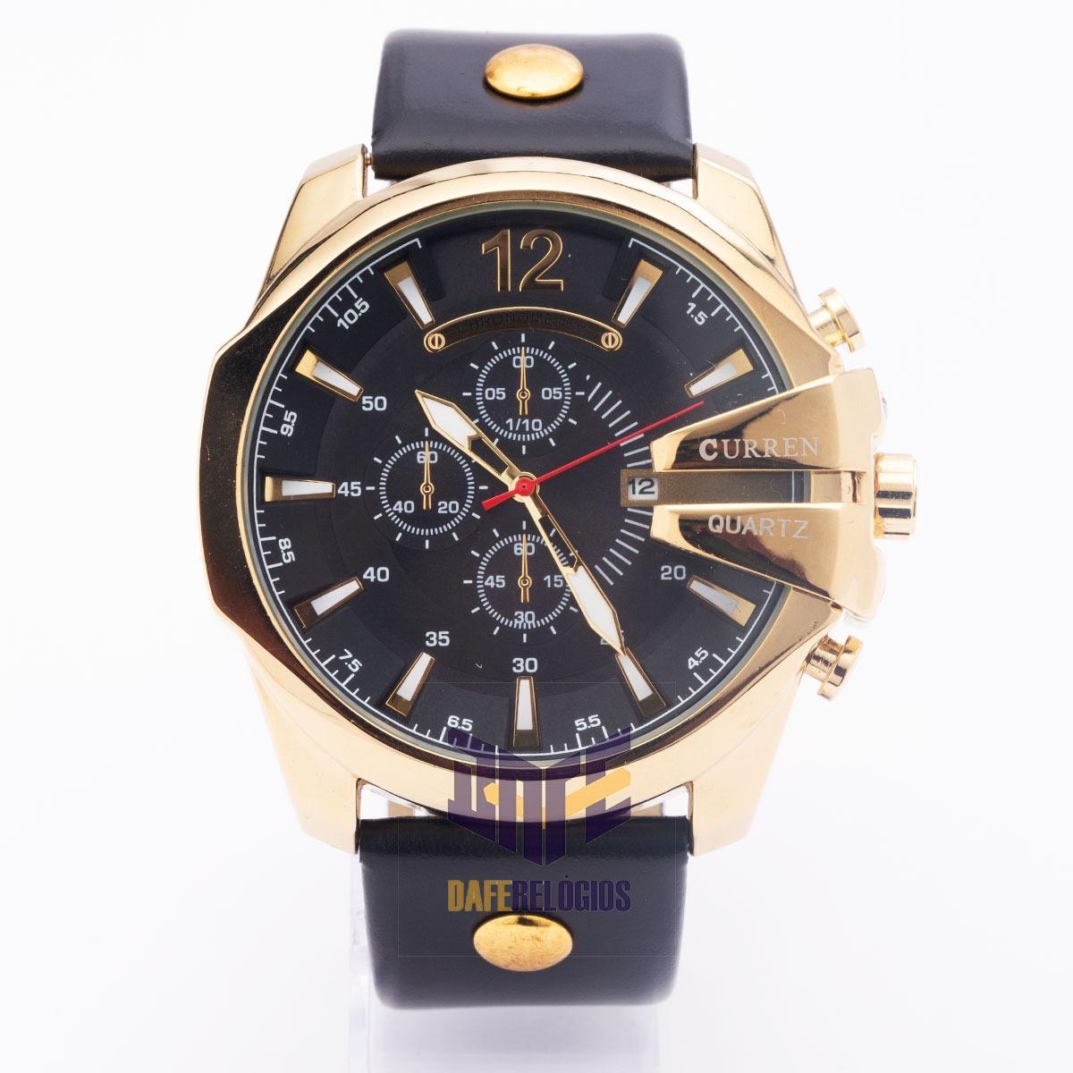 e27051bbfe7 sem estoque relógio masculino curren 8176 original. Carregando zoom.