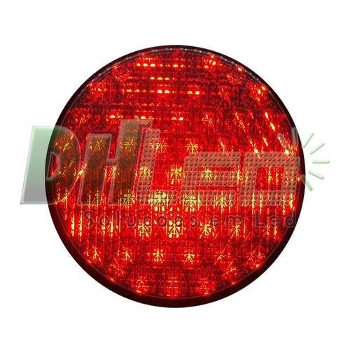 semáforo led 2 fases bivolt com suporte nbr7995 da abnt