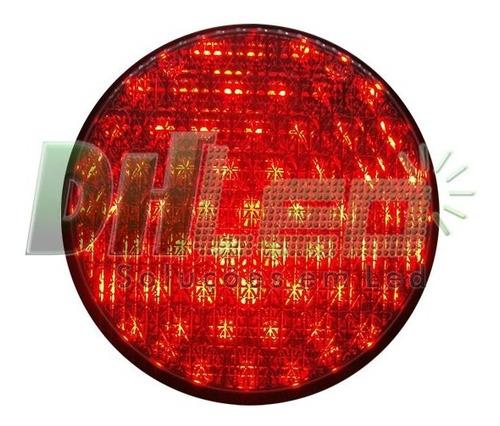 semáforo led 3 fases bivolt atende norma nbr7995 da abnt