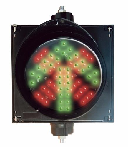 semaforo sencillo con indicador alto y siga modelo pro-light