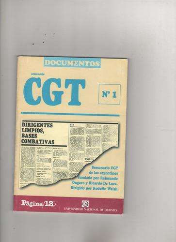 semanario cgt de los argentinos  pag 12