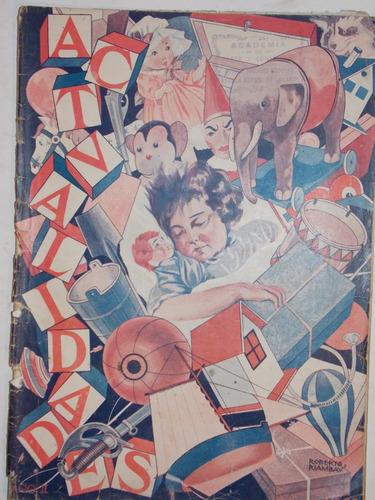 semanario nacional actualidades, enero 1925, 56 pag, nº 22