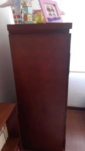 semanero/cómoda de madera de laurel vitefama