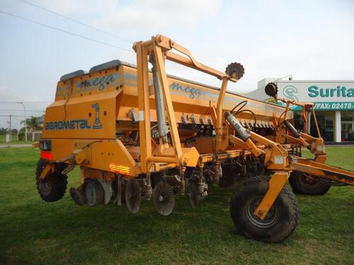 sembradora agrometal tx mega de 16 a 42 y 13 a 52. c/monitor