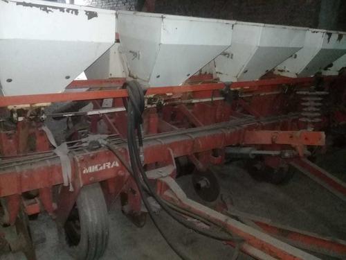 sembradora convencional en tanden 2 modulos de 5 a 70   tpea