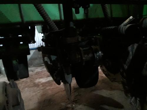 sembradora dasa de 14 surcos con fertilizacion