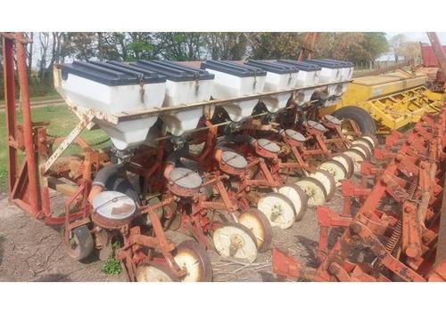 sembradora gherardi 7 a 70 con fertilización