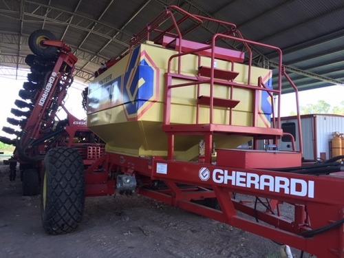 sembradora gherardi air drill de 36l a 35 cm - neumática