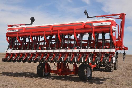 sembradora monumental 7250 autotrailer, granos gruesos.