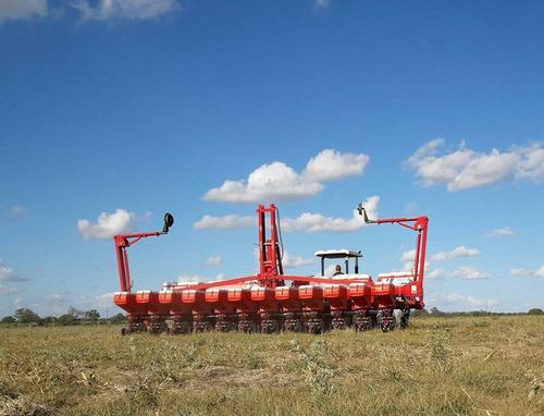 sembradora monumental tambera para granos finos y pasturas.