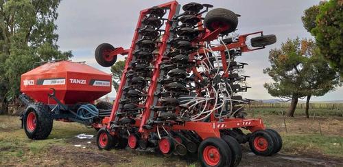 sembradora tanzi 12000 air drill, año 2014