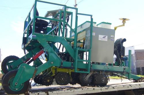 sembradoras de parcelas de 4 surcos a cono o neumática