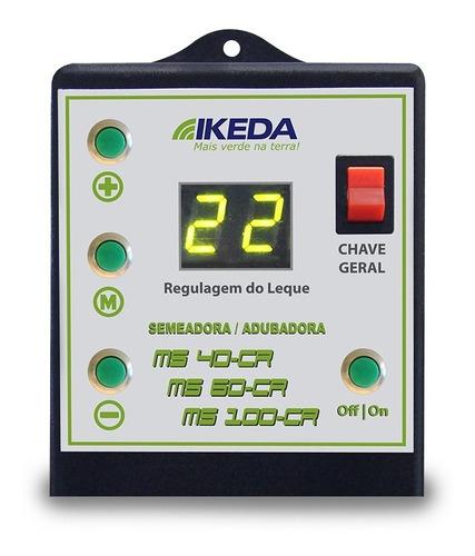 semeadora adubadora para trator ms 100 cr  ikeda embrapa com controle remoto frete grátis