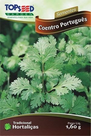 sementes de cheiro verde coentro salsa cebolinha - 3 pacotes