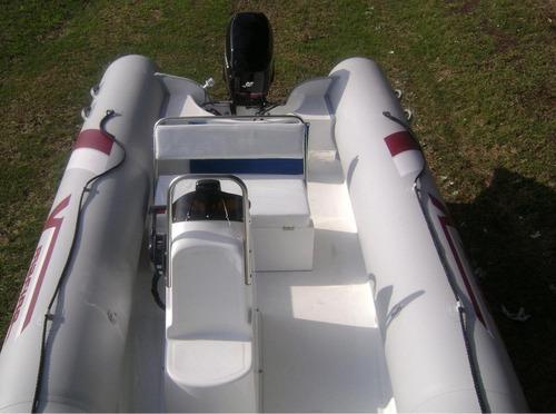semi 5,2 mts matrizado con yamaha 40 hp electrico un lujo