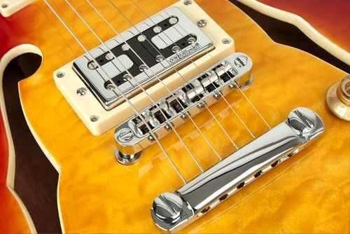semi acustica guitarra