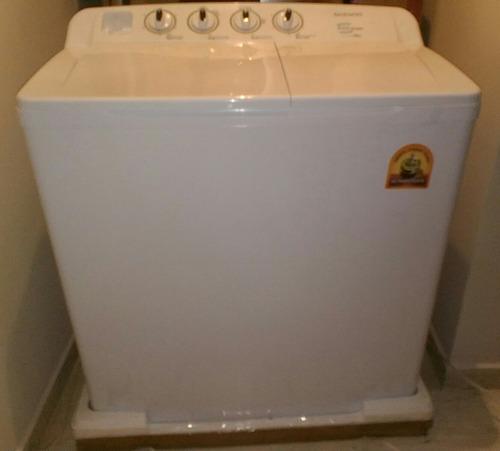 semi automatica lavadora