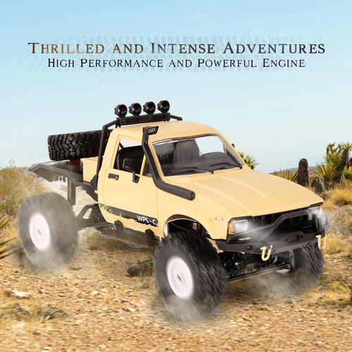 semi camion rc crawler todo terreno camioneta radio control