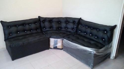semi cuero muebles sala