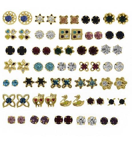 semi joias folheadas kit  80 peças no atacado para revender