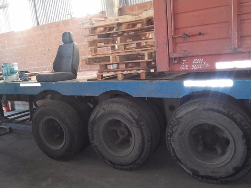 semi montenegro 2000 dos ejes porta conetendor