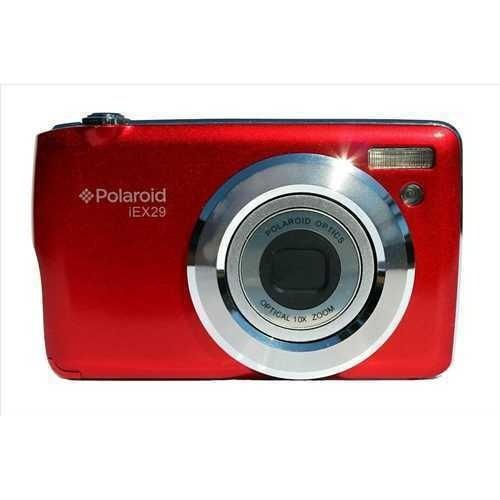 semi nueva camara polaroid iex29 sin cargador