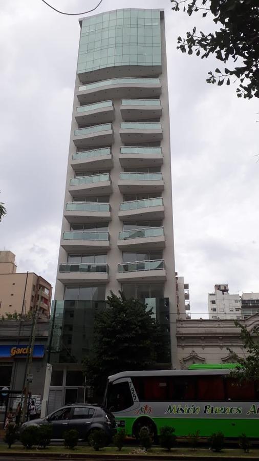 semi-piso al frente a estrenar 1 dormitorio , cochera cubierta y 51,50 mts 2  - la plata