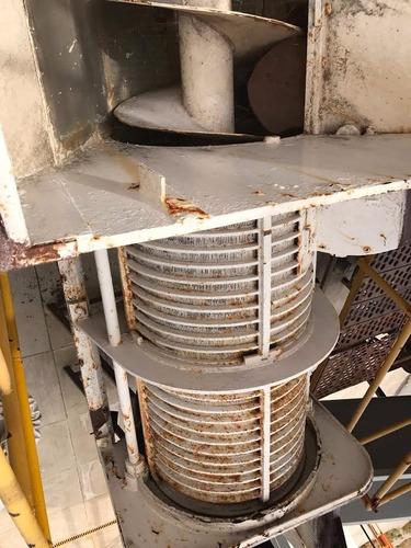 semi prensa de acero inoxidable