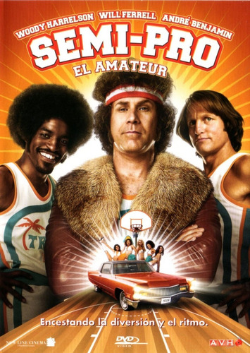 semi pro el amateur ( will ferrell ) dvd original