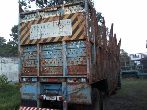 semi reboque carreta  cana inteira canavieiro ano 93 autovia