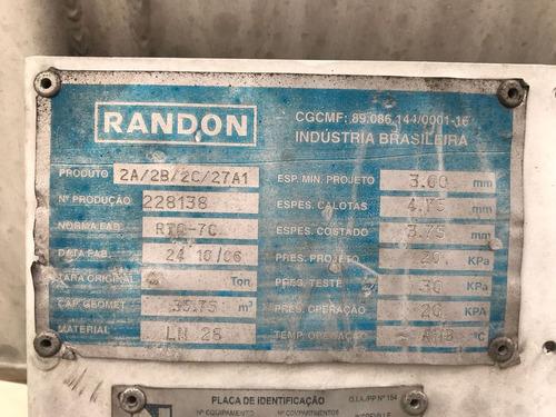 semi reboque carreta tanque randon 35000 litros 2007