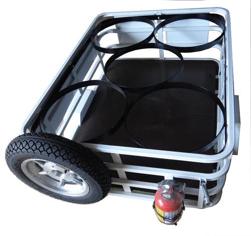 semi reboque, carretinha, fazendinha para moto flexmoto
