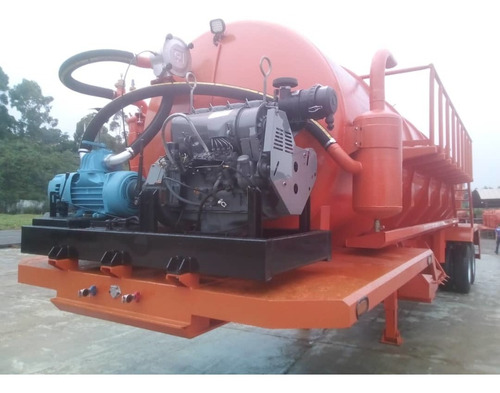 semi remolque vacuum 2 ejes 160 barriles