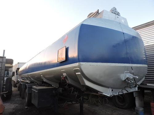 semi tanque randon de aluminio 39000 litros permuta