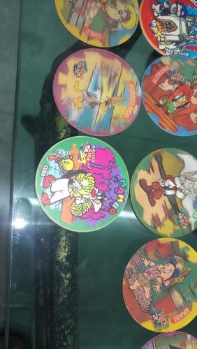 semicoleccion giratazos looney tunes 67/80 y 86