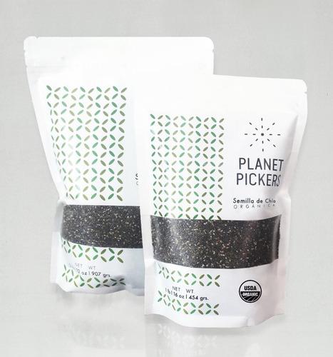 semilla de chía orgánica certificada usda. cont.454g